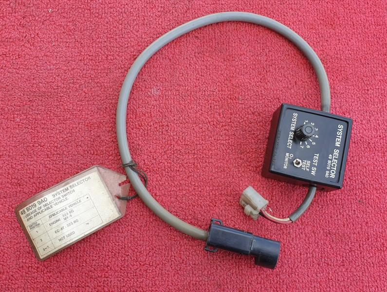 Self Diagnostic Mazda 323 BG8 49 B019 9A0